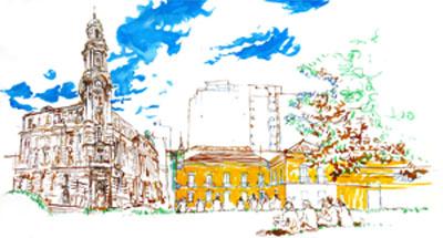 Desenho Rua Frei Gaspar 2017 - von poser cópia